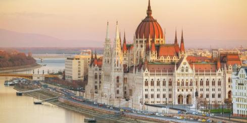 Budapest, the capital city of Hungary
