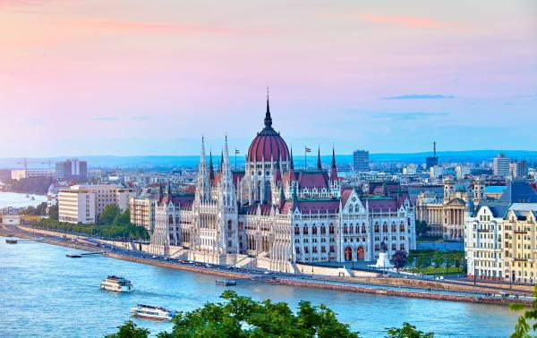 Hungary's Parliament building in Budapest