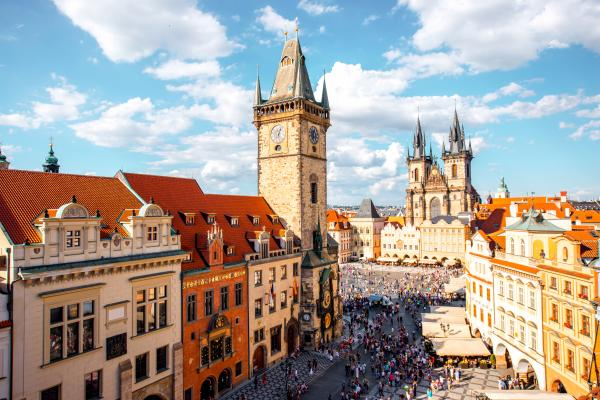 Wander Prague's storied streets