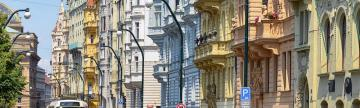 Admire the Art Nouveau architecture of Prague