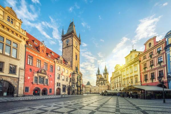 Explore Prague's colorful streets