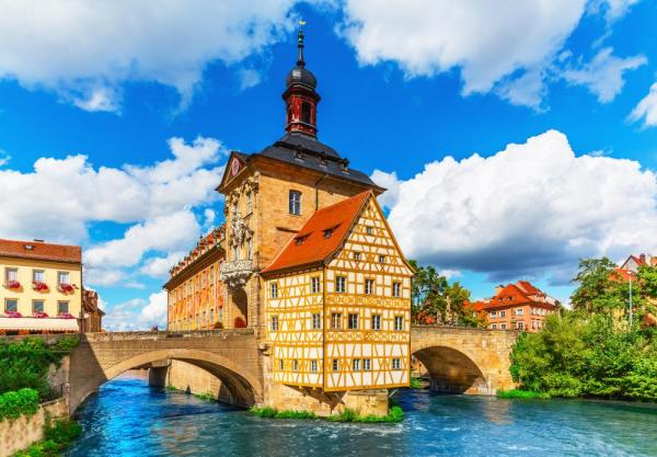 Explore the unique architecture of Bamberg