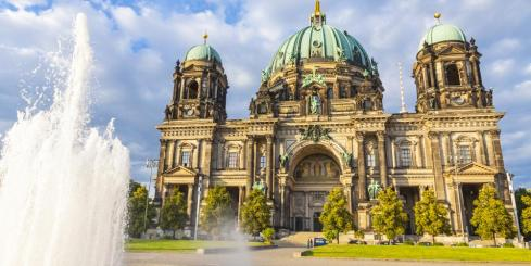 Admire the ornate decoration of the Berlin Cathedral