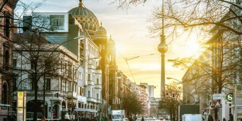Explore the streets of Berlin