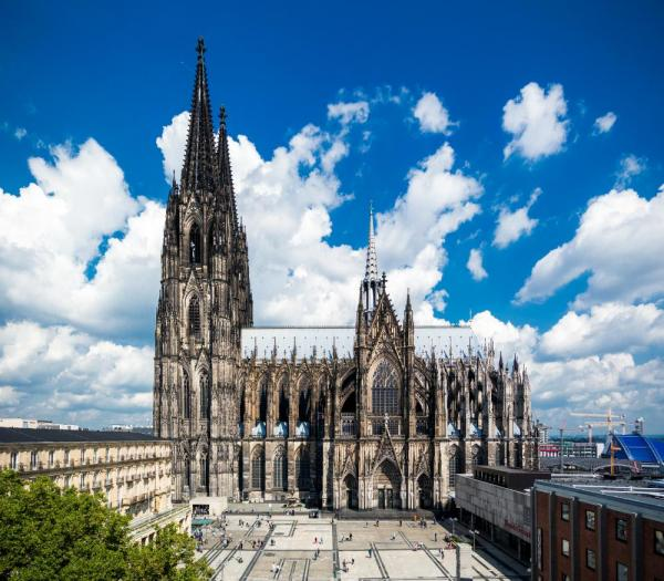 Admire the Kölner Dom, Europe's largest Gothic cathedral