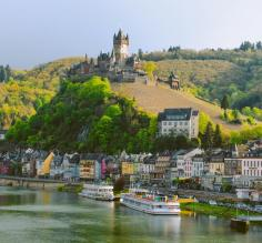 Visit charming towns on the Moselle River