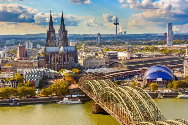 Cruise the Rhine through Cologne