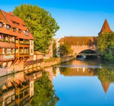 A tranquil moment in Nuremberg