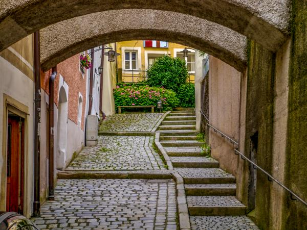 Explore the quaint streets of Passau