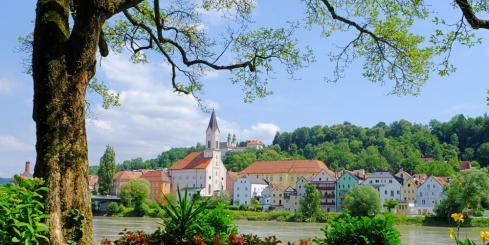 Enjoy cruising through the German countryside