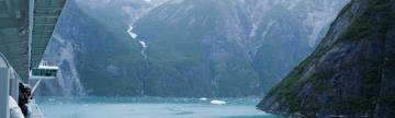 Exploring Tracy Arm Fjord by ship
