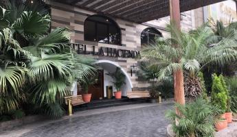Hotel La Hacienda, centrally located in the Miraflores district, and our base during our stay in Lima.
