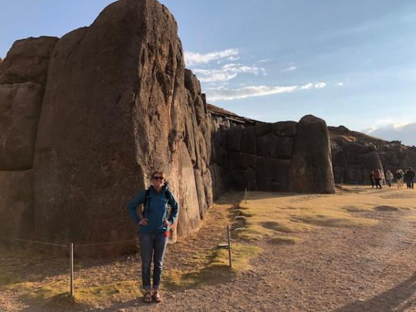 Saqsaywaman - this rock is supposedly 120 tons and was brought from 40 kms away.
