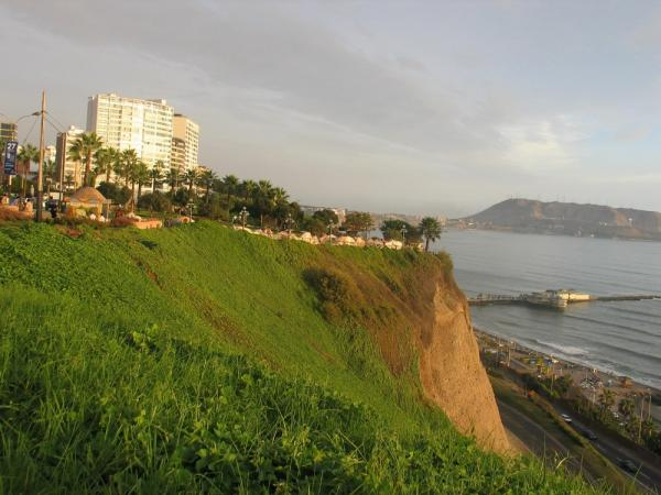 A view from Miraflores in Lima