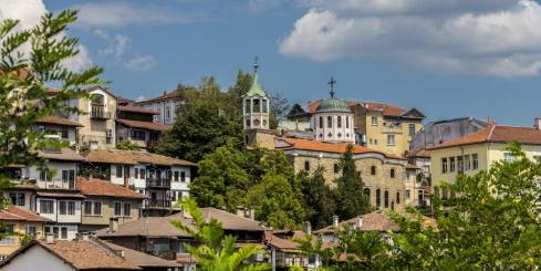 Explore the Bulgarian city of Veiko Tarnovo