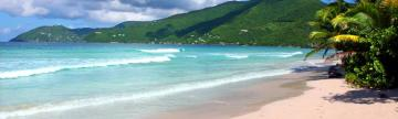 Enjoy the tranquil beaches of Tortola