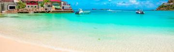 Play on the famously beautiful beaches of St. Barth's