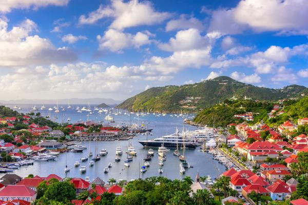 Explore colorful Gustavia