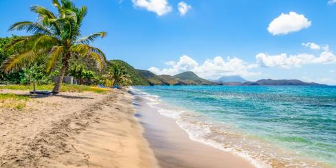 Stroll along the beautiful beaches of the Caribbean