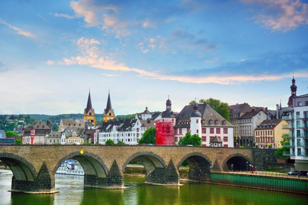 Explore the historic old town Koblenz