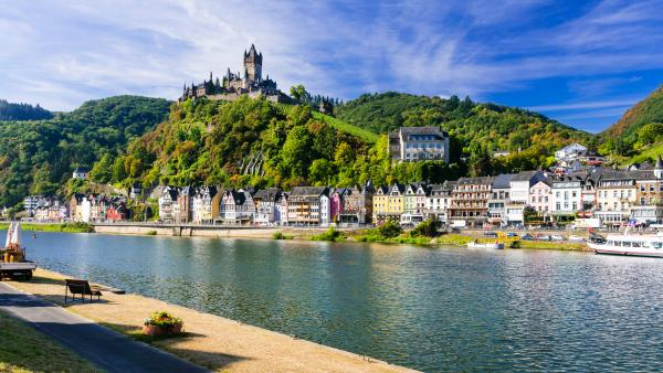 Stop in charming Cochem, Germany