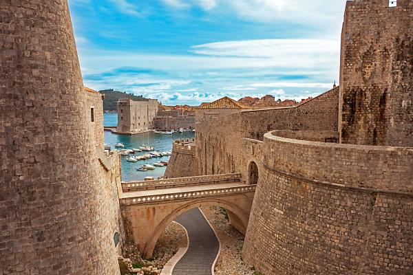 Explore the incredible preserved architecture of Dubrovnik