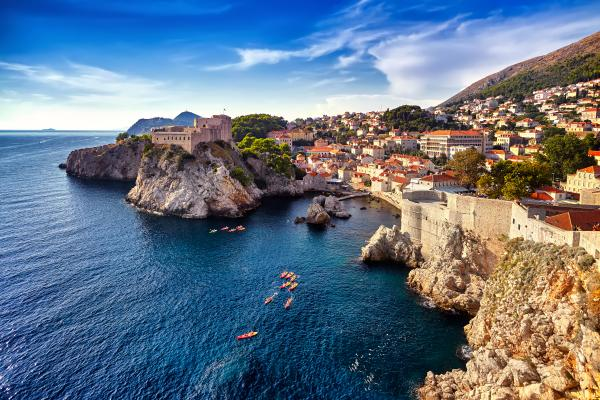 Explore the beautifully preserved walled city of Dubrovnik