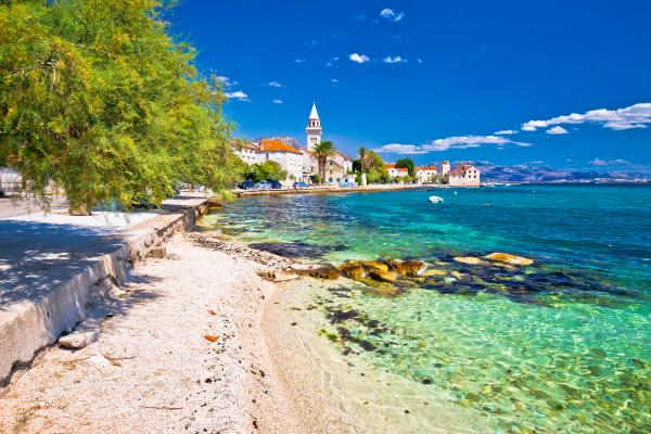 Relax on the beaches of Croatia's Dalmatian coast
