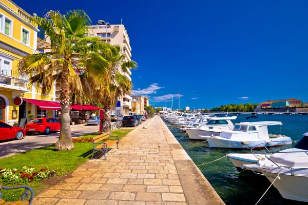 Stroll along the charming waterfronts of the Croatian coast