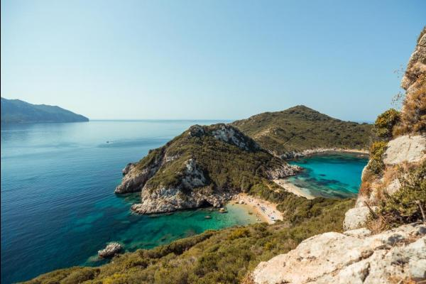 Explore the rocky island of Corfu