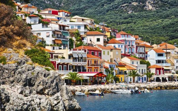 Explore the colorful villages of Parga
