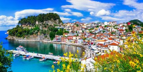 Stop in beautiful Parga