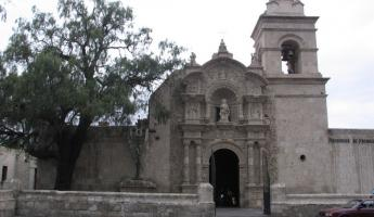 Juan Bautista church in Arequipa