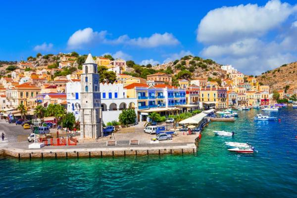 Explore beautiful coastal towns in Greece
