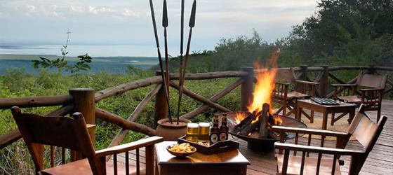Enjoy the comforts and views of Kirurumu Manyara Lodge