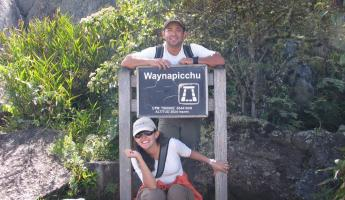 YEAH! We hiked the Waynapicchu!!