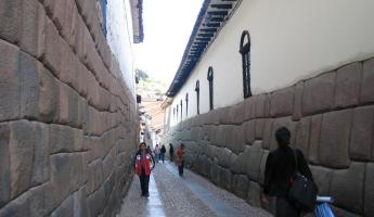 Another beautiful street in Cuzco