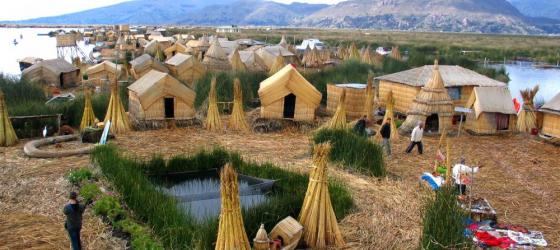 Uros Island - Floating island at the Titicaca