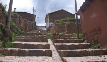 Getting to the Chinchero main square