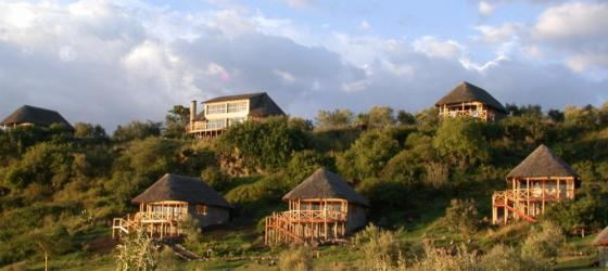 Sunbird Lodge sits atop a hill overlooking the Rift Valley