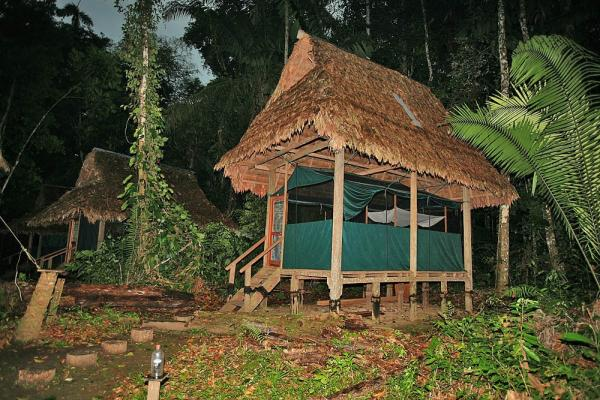 Permanent hut structures