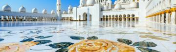 Admire the ornate beauty of the mosques