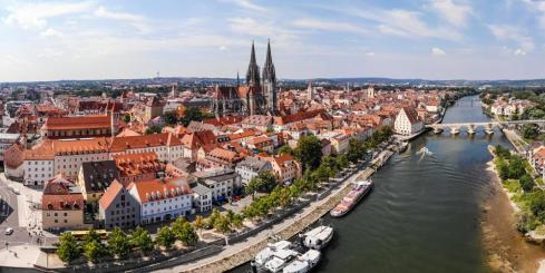 Stop in historic Regensburg on your Danube river cruise