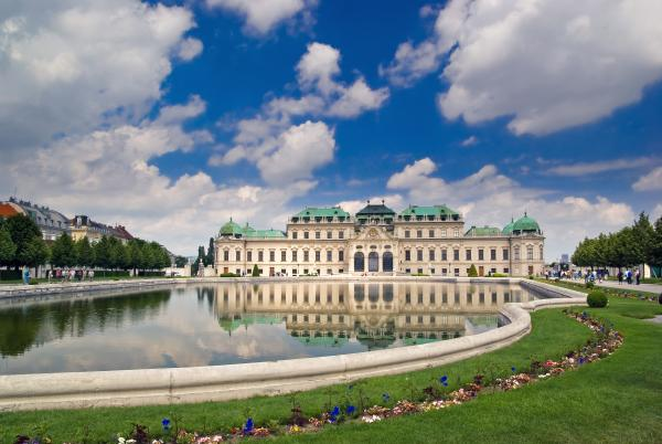 Wander the grounds of Belvedere Palace, Vienna