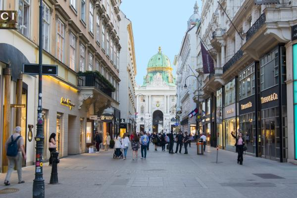 Wander the streets of Vienna