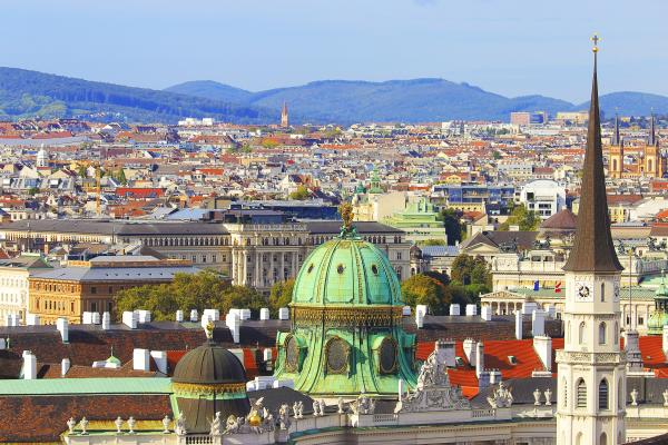 A view over the cultural hub of Vienna