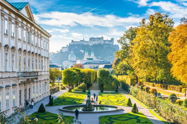 Marvel at the beauty of Salzburg