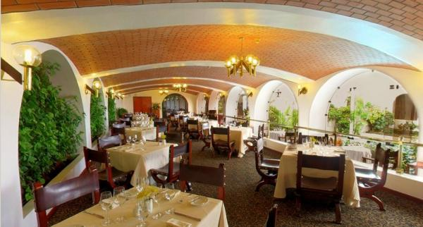 Enjoy a delicious meal in the hotel restaurant