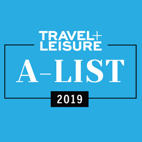 Travel+Leisure A-List 2019