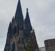 The Cathedral in Cologne.